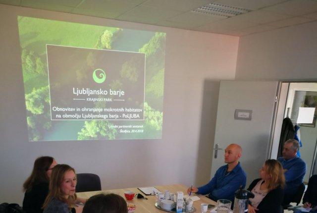 Uvodni sestanek projektne skupine