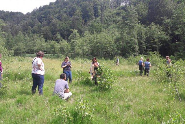 Terenski ogled območja vključenega v projekt PoLJUBA