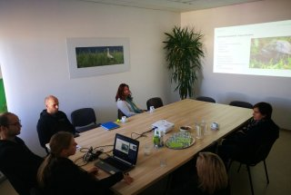 Predstavitev napredka pri izvedbi projekta PoLJUBA je potekala v prostorih projektne pisarne KPLB.