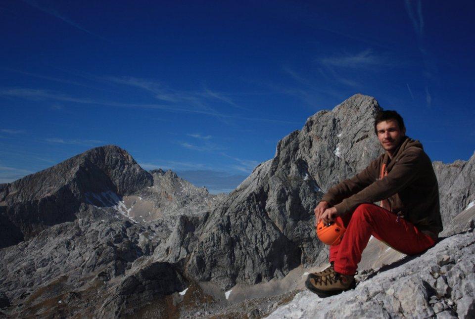 Ekipi PoLJUBE se je pridružil ornitolog Matej Gamser.