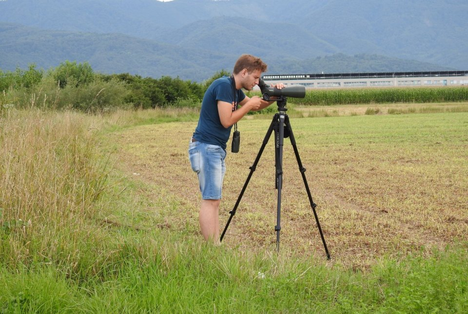Blaž Blažič varstveni ornitolog