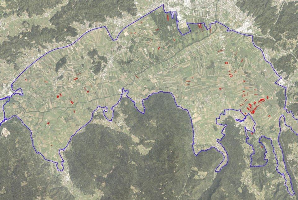 Odkupljena zemljišča za projekt PoLJUBA