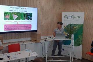 Novinarska konferenca – predstavitev dr. Tatjane Čelik.