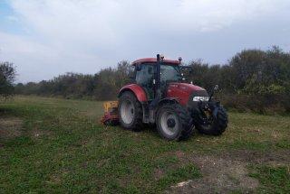 Sajenje senenega drobirja za pospešitev naravne obnove travnikov